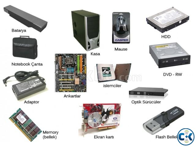 how to clean computer hardware parts