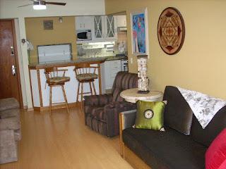 Sala - Apartamento aluguel Temporada Gramado