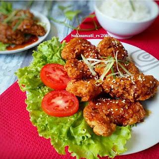 Ide Resep Masak Sayap Ayam Saus Karamel