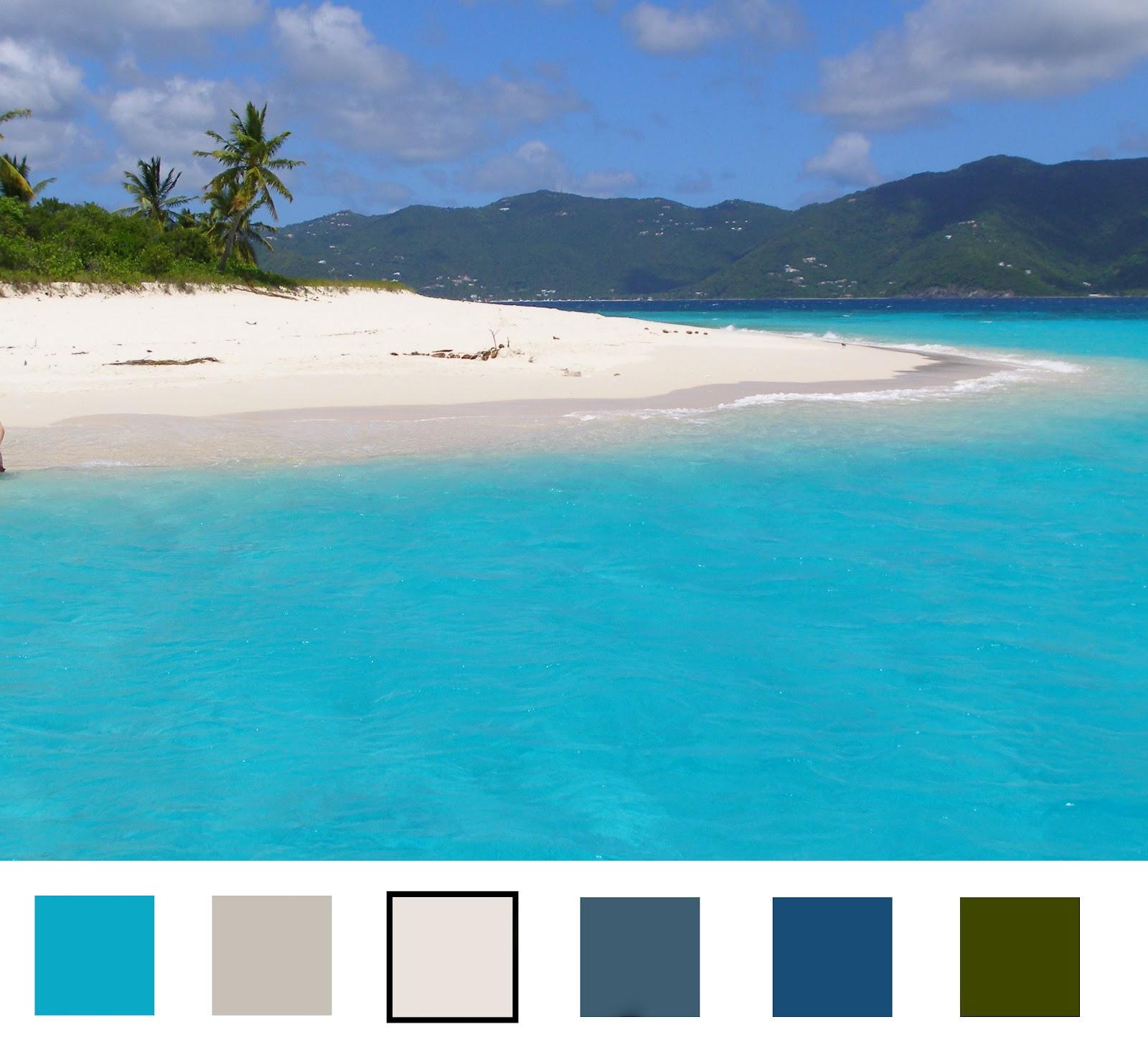 Caribbean Beach: أسهل طريقة لاختيار الوان جديدة و متناسقة لديكور المنزل