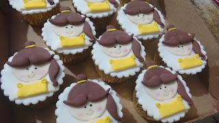Cupcake Bela e a fera