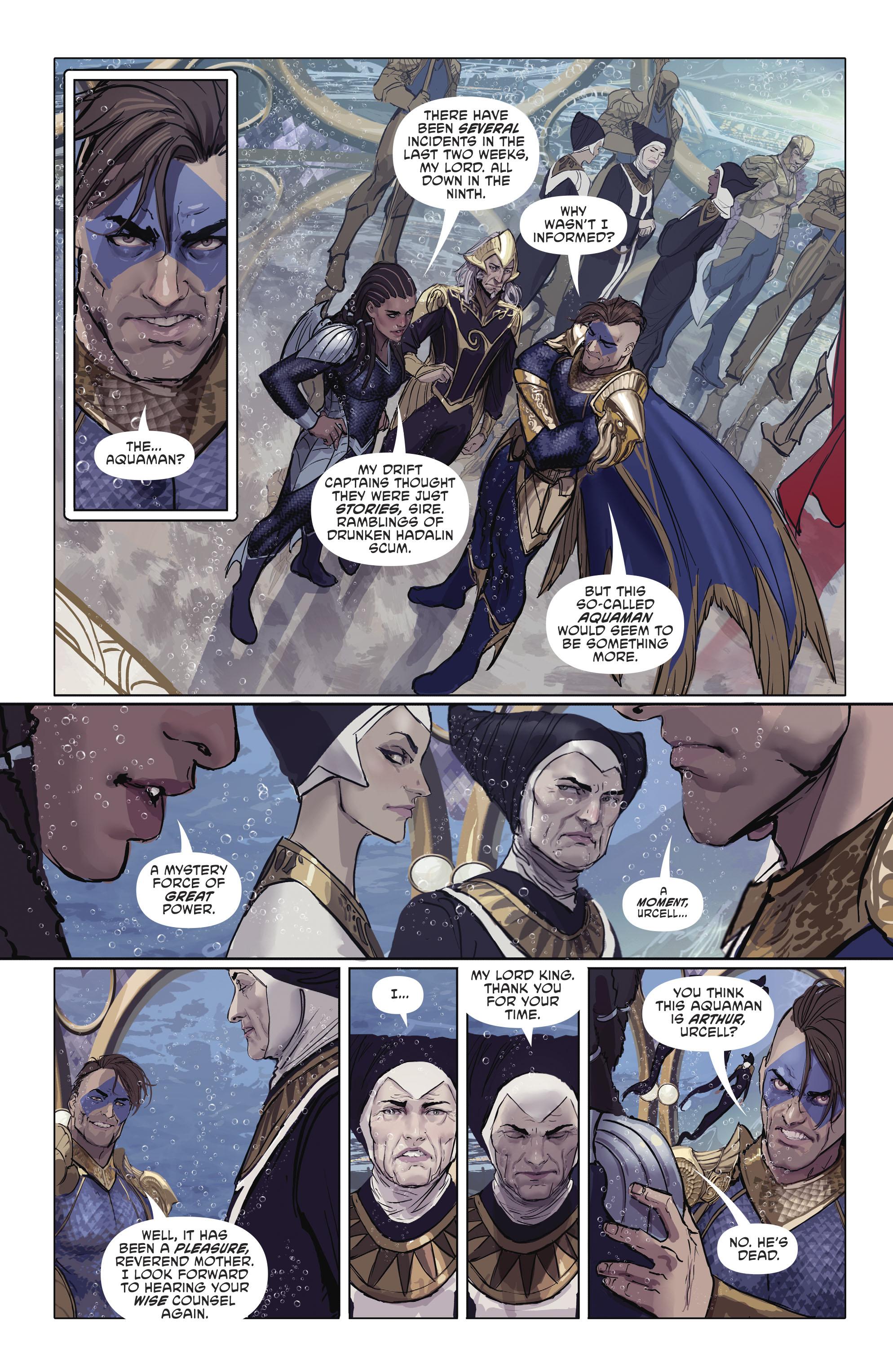 Read online Aquaman (2016) comic -  Issue #25 - 21