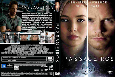 Filme Passageiros (Passengers) DVD Capa