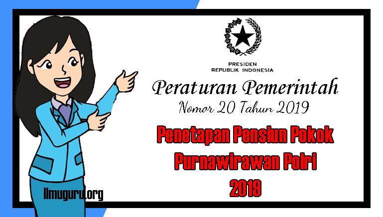 PP Nomor 20 Tahun 2019
