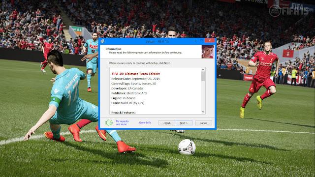ดาวน์โหลดเกมส์ FIFA 15