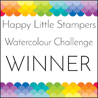Happy Little Stampers Watercolour Winner