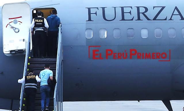 Perú expulsa a 40 inmigrantes venezolanos con antecedentes penales