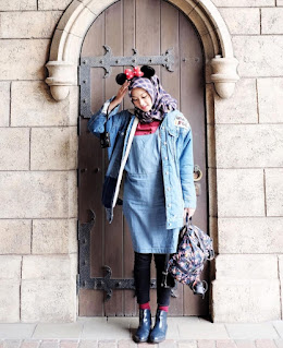 Style Hijab Casual Sporty trend lho