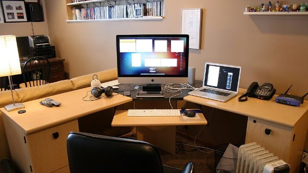 Merancang Ruang Kerja di Rumah Minimalis
