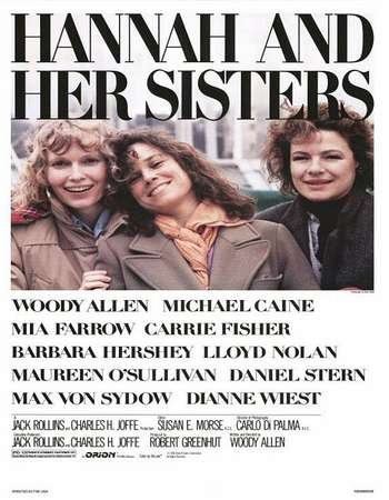 Poster Of Hannah and Her Sisters 1986 English 300MB BRRip 480p Watch Online Free Download Worldfree4u