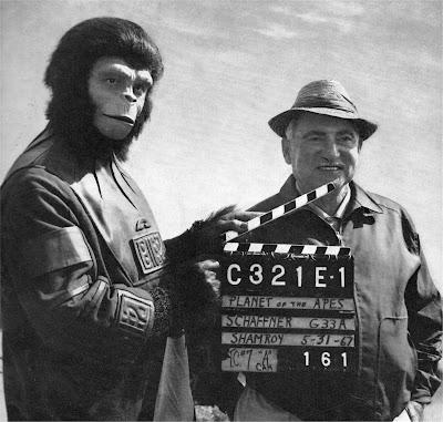 El planeta de los simios detrás de las cámaras