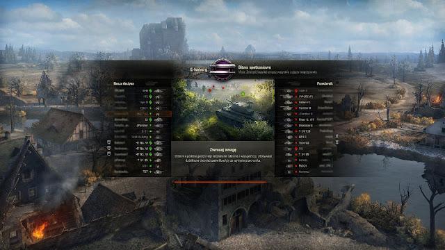 Ładowanie mapy podlegające mierzeniu w grze World of Tanks