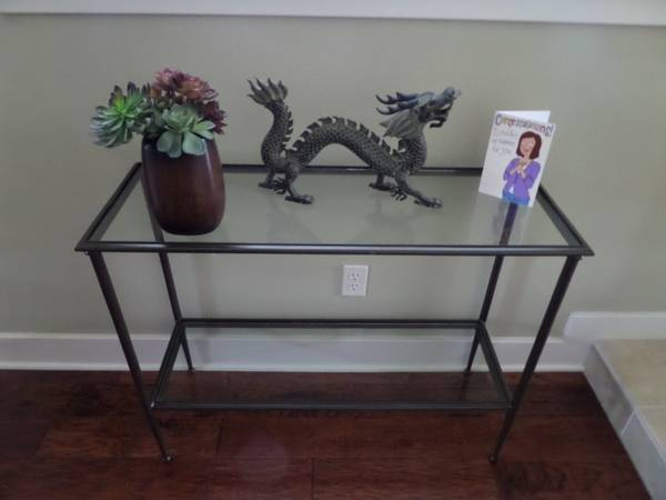 Foyer Table Craigslist : Craigslist sofa table console project