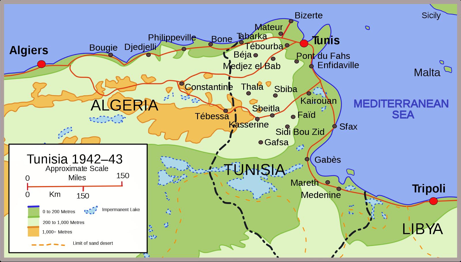 Big Blue 1840 1940 Tunisia
