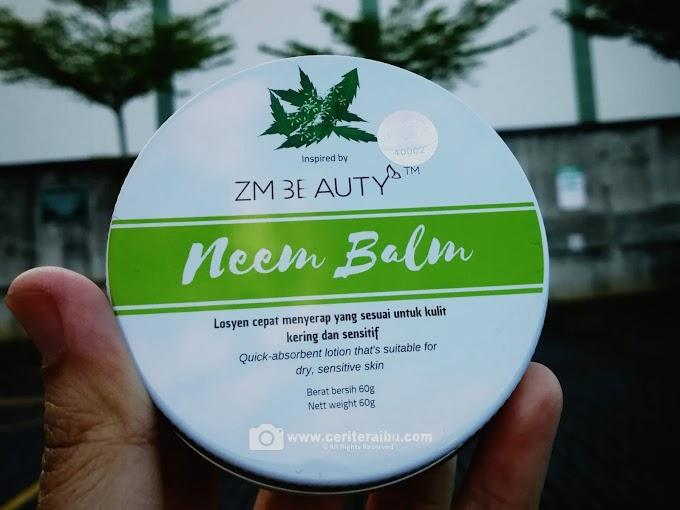 Neem Balm ZM Beauty - Daun Semambu Zaman Moden