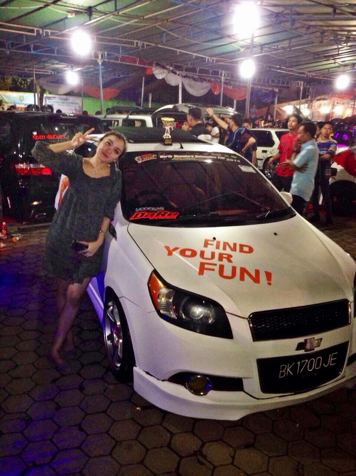 Melisa Siregar pembalap wanita di Medan