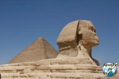 Pirámide de Kefrén y Gran Esfinge