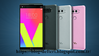 LG V20 Piyasaya Çıkma Tarihi Ve Özellikleri