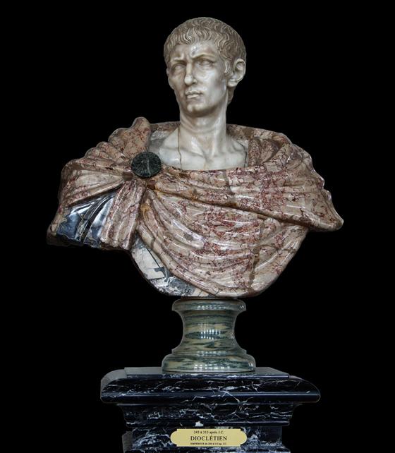 Emperor Diocletian statue