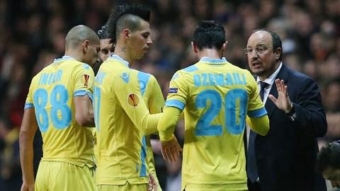 Rafael Benitez cảm thấy hạnh phúc tại Napoli