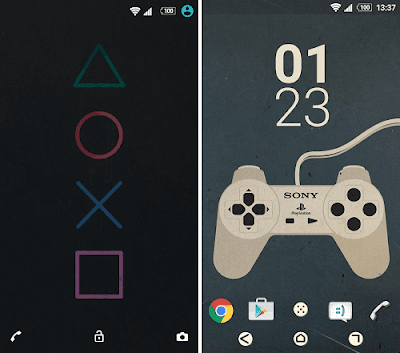 XPERIA PlayStation Theme Apk Download