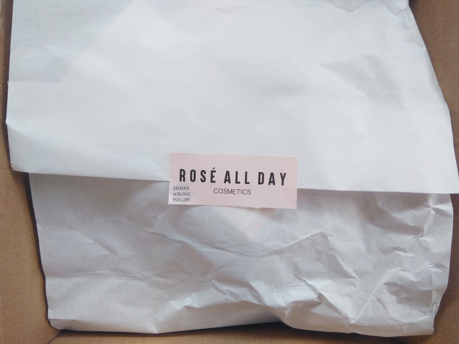 review Rose All Day The Realest Lighweight Foundation - Light