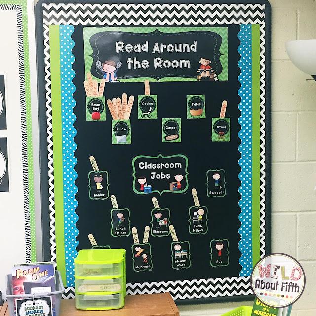 classroom jobs chart FREE