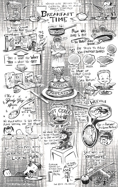 Zdepski's Breakfast Time comic for the Magic Bullet 12