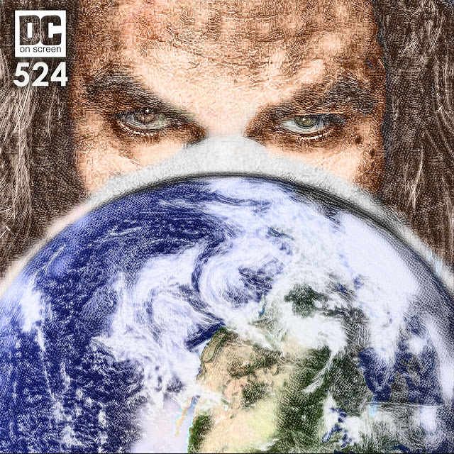 Aquaman engulfing the earth