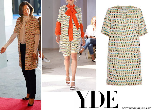 Crown Princess Mary wore YDE Jimi Jacket