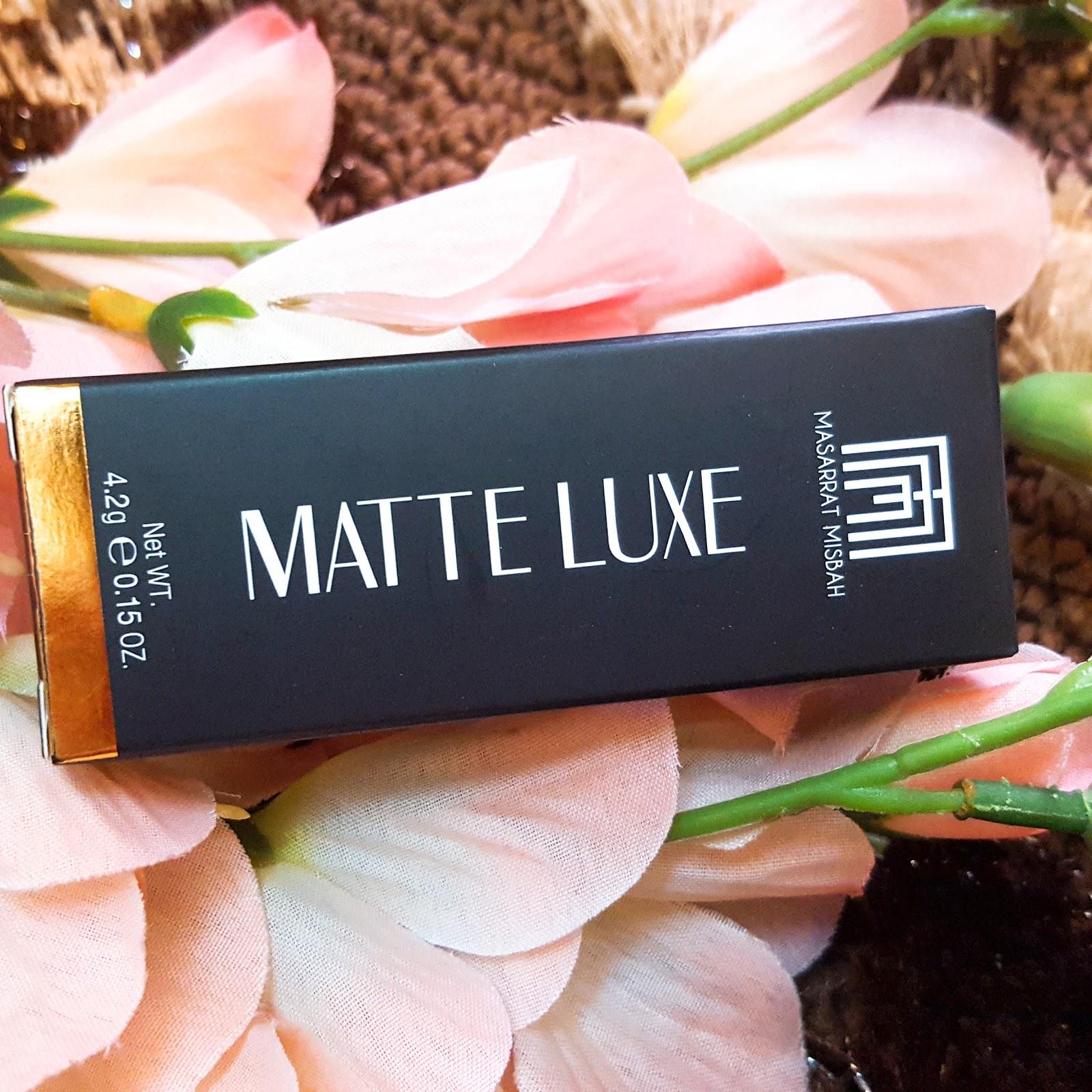 Masarrat Misbah Matte lUXE Lipstick
