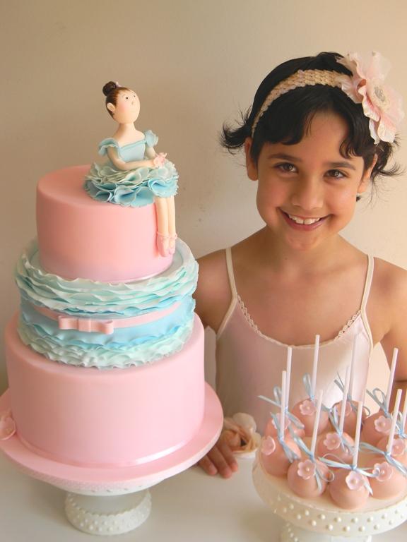Ballerina Birthday Cake Melbourne