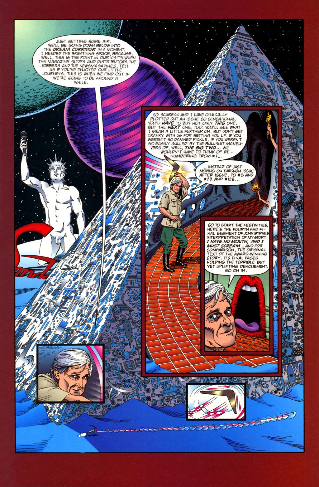 Read online Harlan Ellison's Dream Corridor comic -  Issue #4 - 3