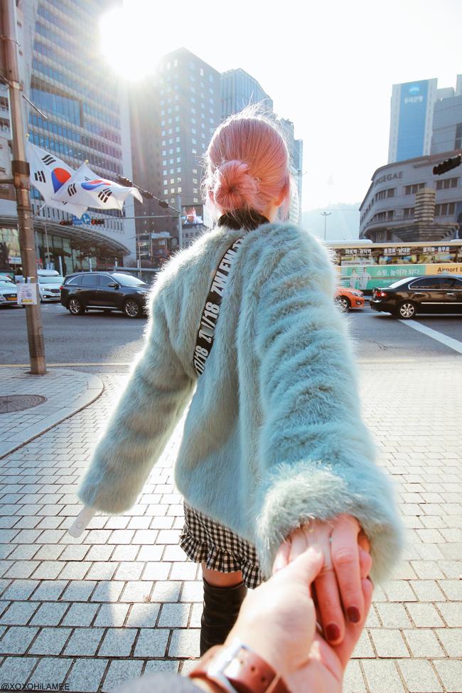 Japanese Fashion Blogger, TRAVEL in South Korea with wearable translator ili : What's ili?