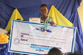2nd Place Junior Category Innovative Future Essay Writing Competition