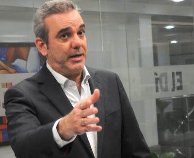 """Luis Abinader: """"Lo que está haciendo el PRM como convención no lo hace ningún partido"""""""
