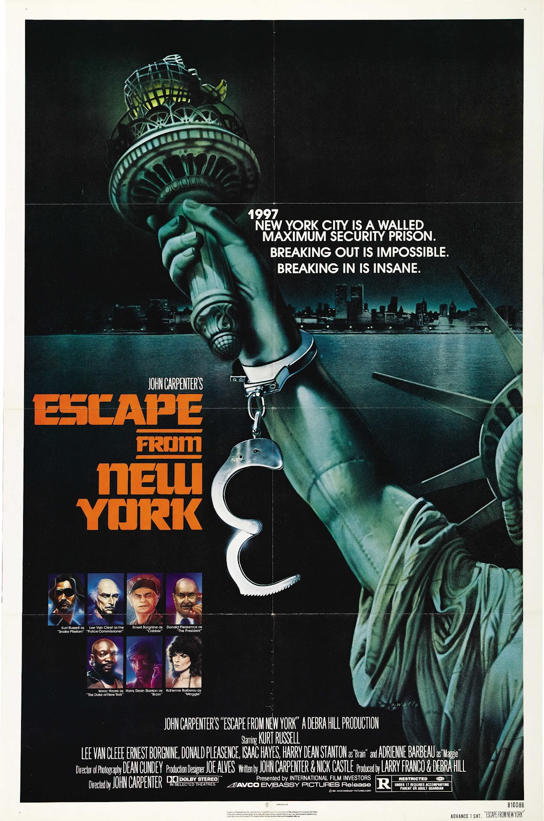 The Geeky Nerfherder: Movie Poster Art: Escape From New ...