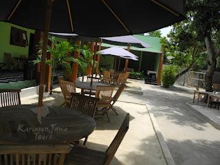 homestay karimun indah cafe area