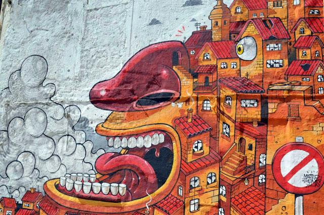 """The Scream Of Vallicaldi"" New Street Art Piece By Mr Thoms In Sicily. 4"