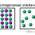 homogeneous mixture definition chemistry