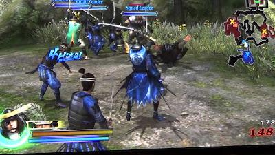 Sengoku Basara: Samurai Heroes screenshot 2