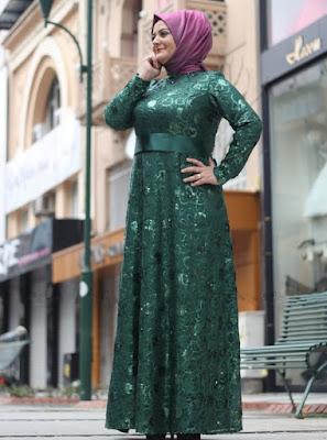 Model Baju Muslim Untuk Orang Gemuk Terbaru