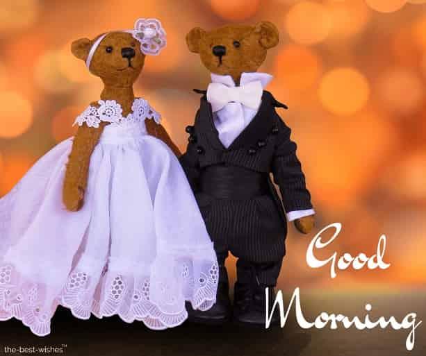 married teddy bear image