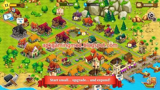 Town Village: Farm, Build, Trade, Harvest City v1 8 8 (Mod