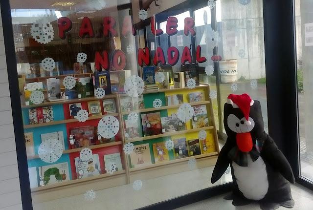 """Visita a nosa exposición """"Para ler no Nadal!"""""""