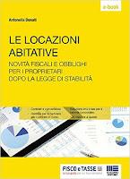 Le locazioni abitative: Novità fiscali e obblighi per i proprietari dopo la Legge di Stabilità