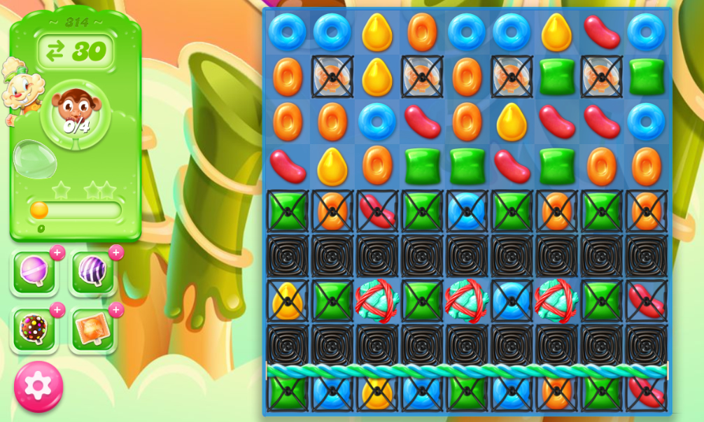 Candy Crush Jelly Saga 314