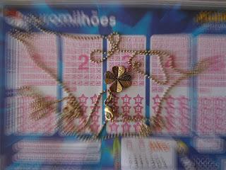 amuleto para ganhar na loteria