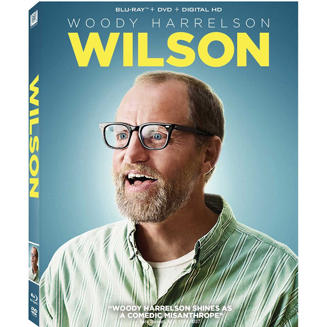 Wilson movie DVD cover
