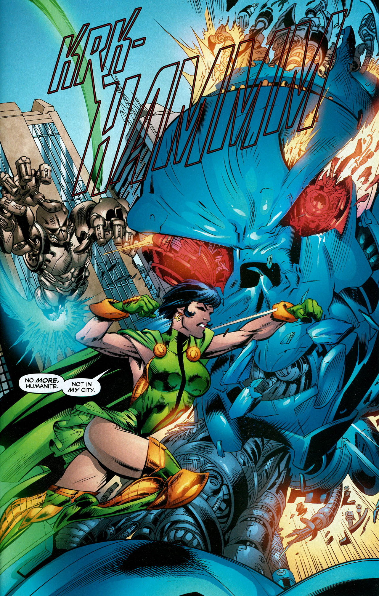 Read online Trinity (2008) comic -  Issue #22 - 29